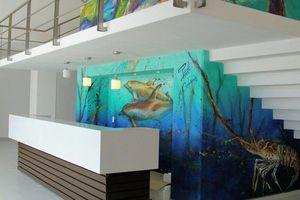 Echa un vistazo a los murales del nuevo Hospital General