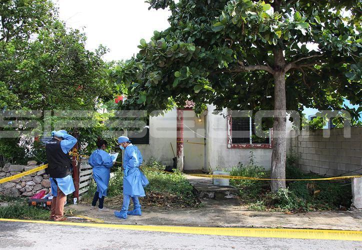 El hallazgo del cuerpo se realizó la tarde del jueves en Kanasín, mientras que los hijos de la víctima jugaban en el patio de la casa. (SIPSE)