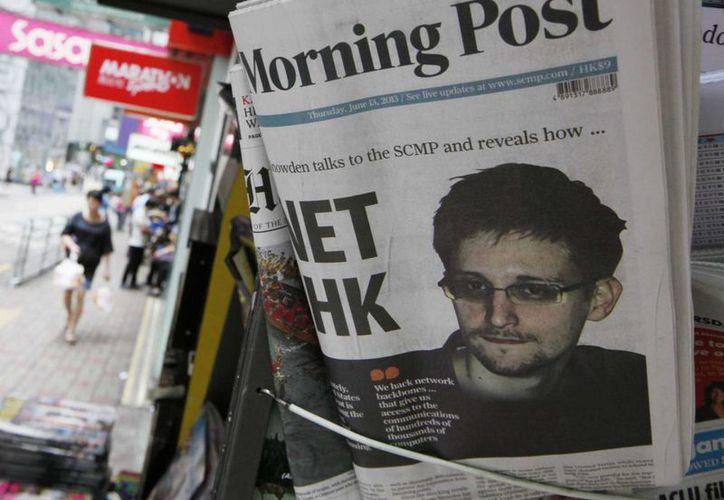 Snowden, 'una pieza más' para controlar la mente de los ciudadanos de EU. (Agencias)
