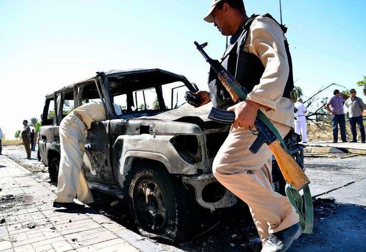 Al menos 15 soldados fallecieron en un ataque a un puesto de control militar en Egipto. Imagen de archivo de integrantes del Ejército de ese país. (EFE/Archivo)