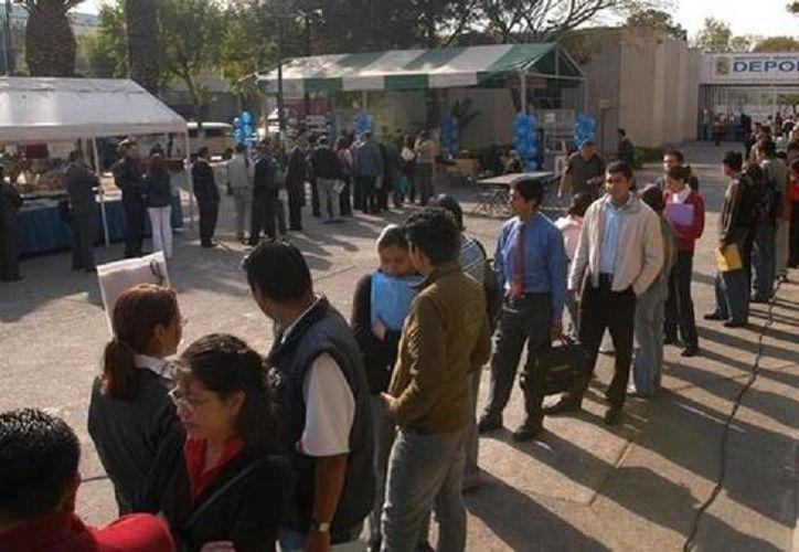 Según el Inegi la tasa de desempleo es mayor en las localiades grandes porque el mercado está más organizado. (Milenio/Foto de contexto)