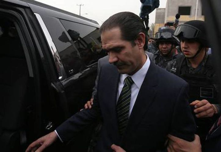 Guillermo Padrés, ex gobernador de Sonora, se le acusa de los delitos de defraudación fiscal y operaciones con recursos de procedencia ilícita. (Alfredo Domínguez/La Jornada)