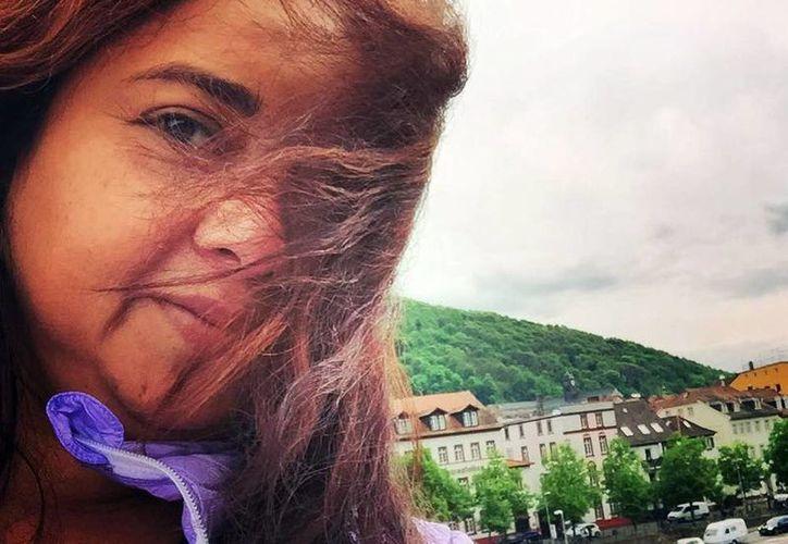 La dramaturga yucateca viajó como invitada a Alemania para tomar un curso de teatro. (Milenio Novedades)