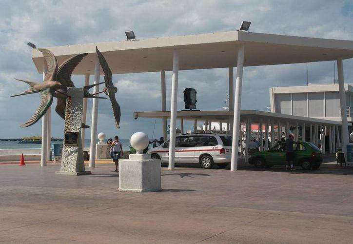 La escultura de La Golondrina será reubicada unos metros hacia el norte. (Julián Miranda/SIPSE)