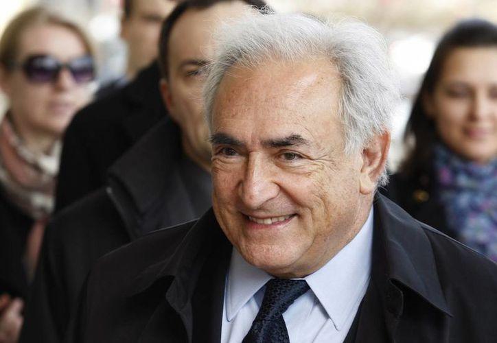 """Strauss-Kahn había solicitado la prohibición de la publicación del libro """"Belle et Bête"""". (EFE)"""