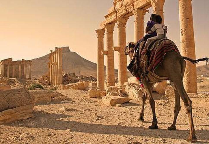 Palmira fue una antigua ciudad nabatea situada en el desierto de Siria. (UNESCO)