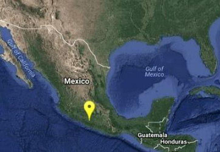 Protección Civil realizó los protocolos de emergencia correspondientes. (@SSNMexico)
