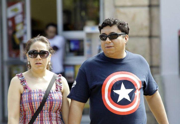 Ayer, Mérida registró unos agradables 29 grados de temperatura. (Christian Ayala/SIPSE)