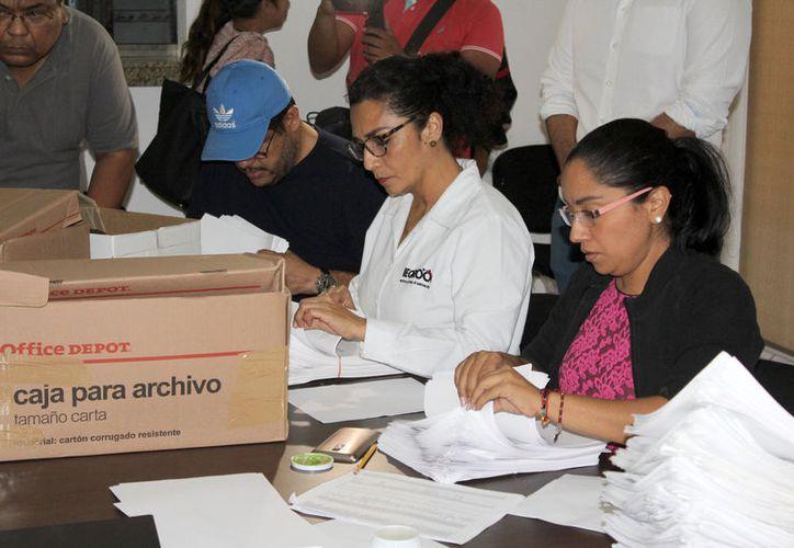 El Ieqroo debe entregar cifras finales de afiliaciones de las tres organizaciones. (Joel Zamora/SIPSE)