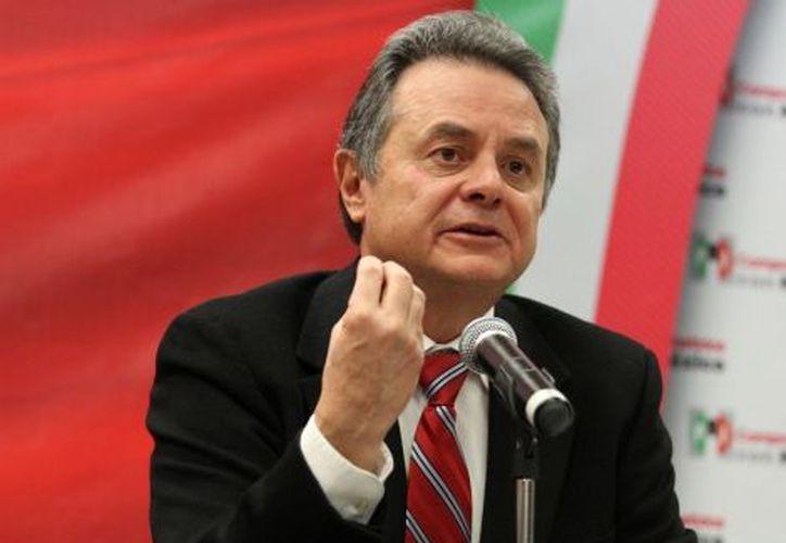 El presidente nacional priista, Pedro Joaquín Coldwell. (Archivo Notimex)