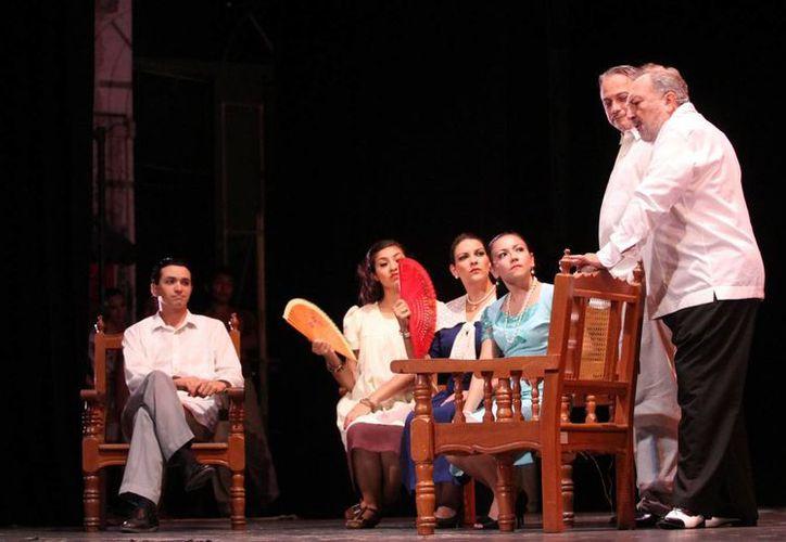 """""""Rosario de filigrana"""" es una obra emblemática del teatro regional yucateco y tiene como tema central el henequén. (Cortesía)"""