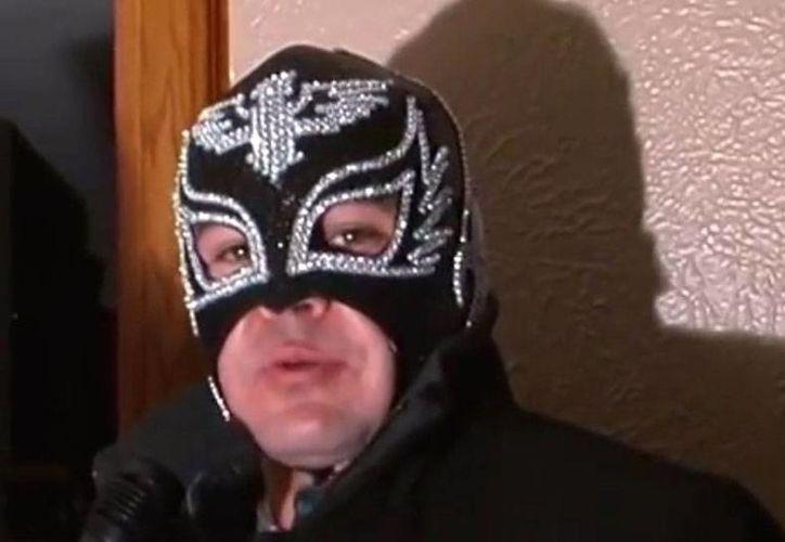 Jesús Alejandro Leal Flores tenía dos personalidades más: en el narcotráfico era conocido como <i>El Metro 24</i>, y en la lucha libre, como Imagen 3. (Captura de pantalla YouTube)