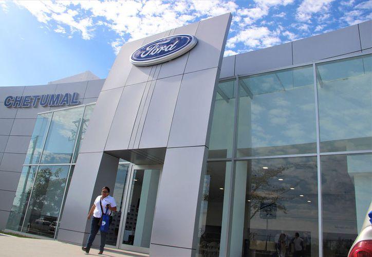 La agencia Ford Chetumal es la tercera en el estado, cuenta con otras dos, en Playa del Carmen y Cancún.