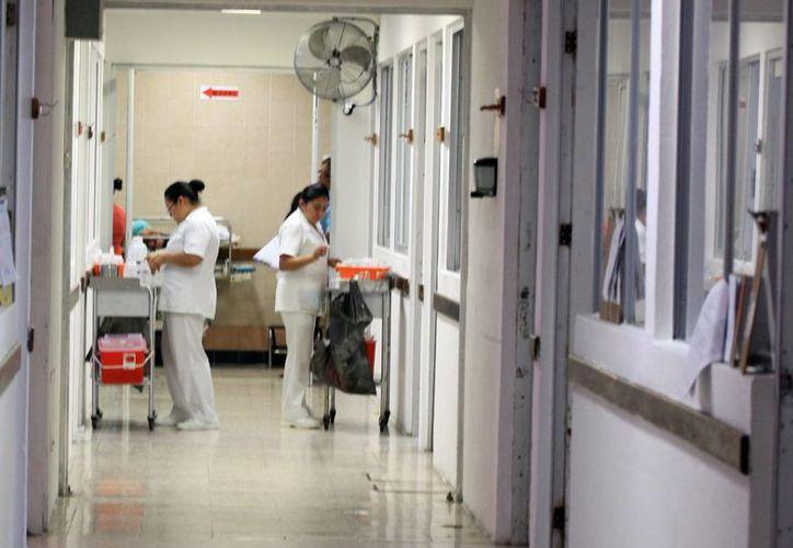 Este año se han realizado 5 mil 800 operaciones obstétricas en el Hospital General Jesús Kumate. (Luis Soto/SIPSE)
