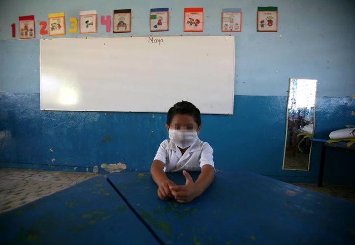 Los niños son uno de los sectores más vulnerables por la influenza. (Milenio Novedades)