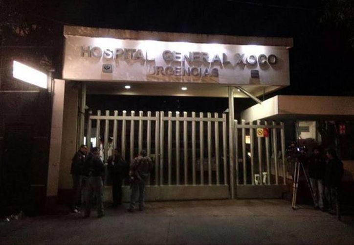 Elba Esther Gordilllo fue trasladada anoche del Hospital Ángeles Interlomas al Hospital de Xoco. (Mauricio Hernández/excelsior.com.mx)