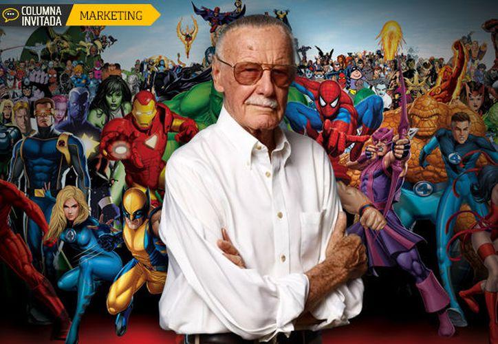 Stan Lee es un hombre con gran legado, tiene 95 años y continúa vigente. (foto: Alto nivel)