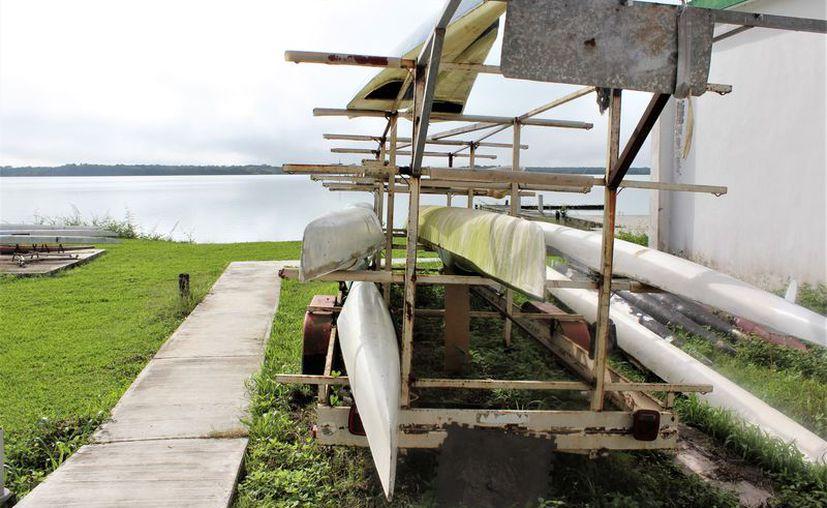 La pista de canotaje se ubica en la Laguna Milagros, en la comunidad de Huay-Pix. (Miguel Maldonado/SIPSE)