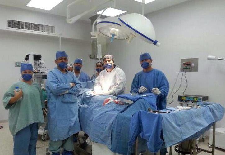Las primeras cirugías practicadas en el quirófano fueron una apendicitis aguda y una cirugía de mano. (Milenio Novedades)