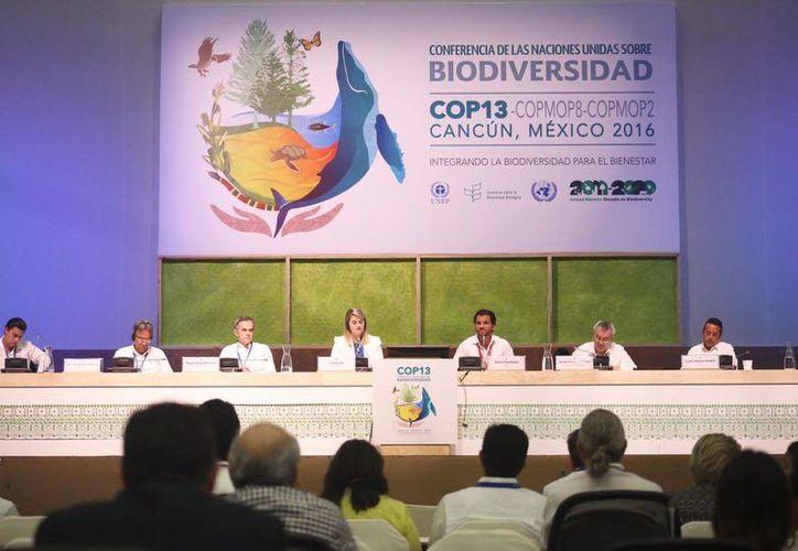 El gobernador Rolando Zapata Bello participó en la firma de un acuerdo ambiental con seis metas a cumplir para el año 2030.