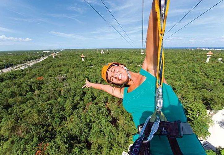 Entre los tours se ofrecen actividades extremas. (revistabuenviaje.com)