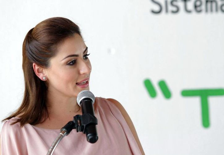 Presidenta del DIF, Mariana Zorrilla de Borge. (Redacción/SIPSE)