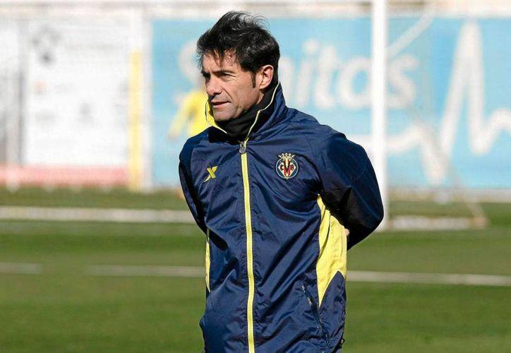 El director técnico del Club Villarreal, donde militan los mexicanos Giovani y Jonathan Dos Santos, es el mejor de España en el mes de diciembre de 2014. (100x100fan.com)