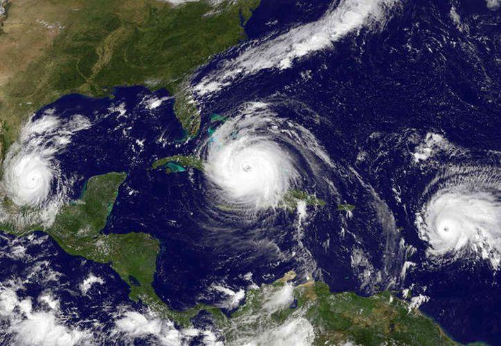 En México la temporada de ciclones es de mayo a noviembre. (Contexto/Telemundo)