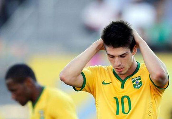 Lucas Domingues Piazon, seleccionado nacional de Brasil durante los Juegos Panamericanos de Toronto 2015, en Canada, está acusado de violación. (Archivo/AP)