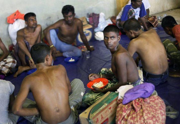 Unos 45 mil rohingya han llegadoa Malasia buscando refugio, pero ahora ese país afirma que no puede recibir más. (AP)