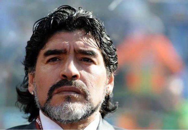 Maradona confesó el importante apoyo recibido de su familia. (Revista Estadio)