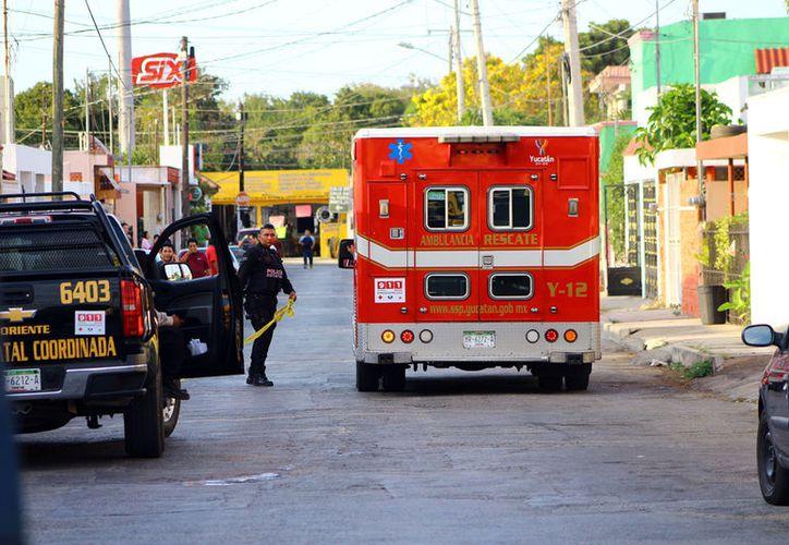 El asesinato ocurrió en el fraccionamiento San Luis, en el oriente de la ciudad (Imagen de SIPSE/ A. Pallota)
