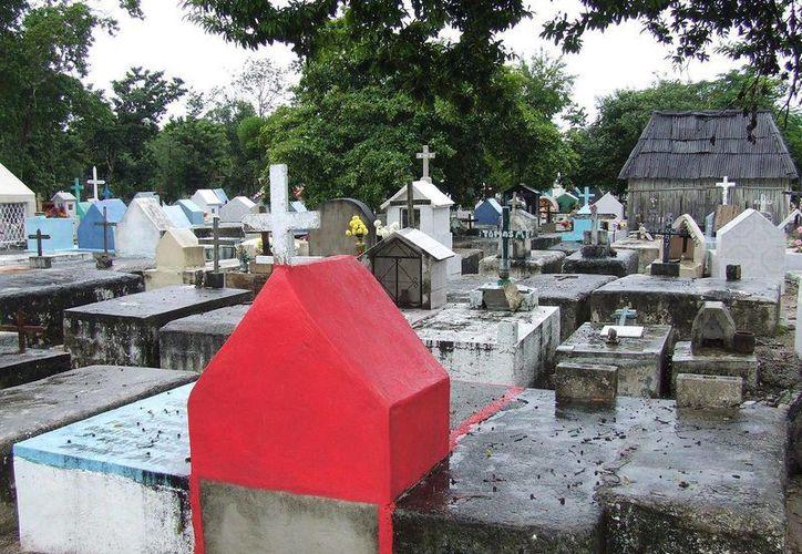 La comunidad de Cobá restringió el uso de su cementerio a otras poblados. (Rossy López/SIPSE)