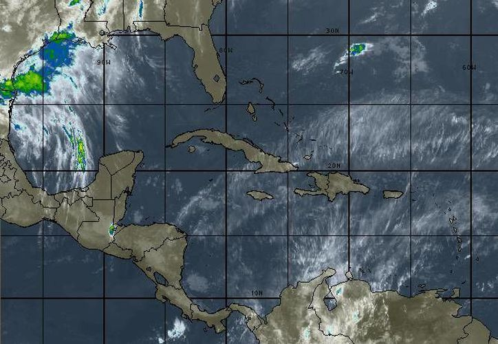 La probabilidad de lluvias en Chetumal y Cancún son del 20 por ciento. (Intellicast)
