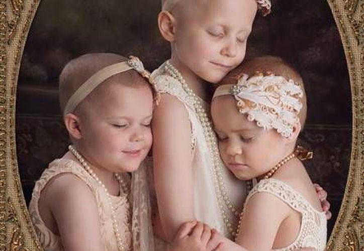 Las pequeñas están en la recta final de la lucha contra su enfermedad. (Excélsior)