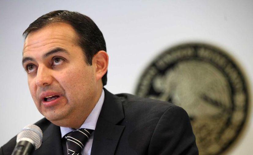 Senadores panistas ven 'inminente' el reemplazo de Cordero. (Archivo/Notimex)