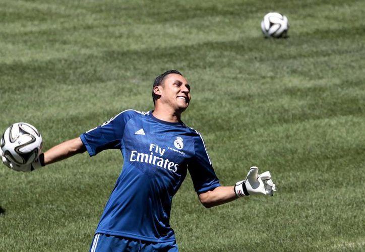 Keylor Navas ha jugado poco esta campaña con Real Madrid, al que llegó apenas hace unos meses tras jugar muy bien el Mundial. (Notimex)