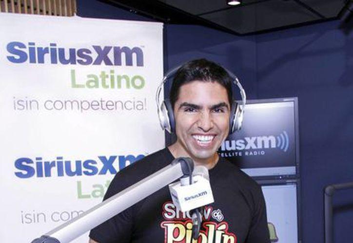 Eddie 'Piolín' Sotelo en su nueva casa, Sirius XM. (Agencias)