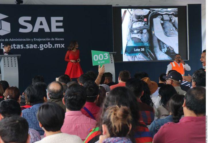 El SAE subastó este domingo propiedades decomisadas al crimen, entre las cuales estaban tres casas de 'El Chapo'. (Agencia Reforma)