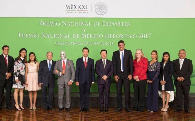 EPN entrega del Premio Nacional del Deporte