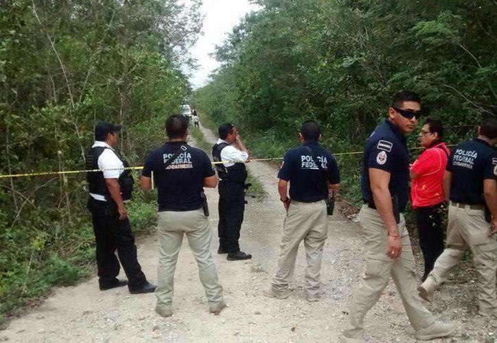 Ayer fue encontrado un cuerpo en una colonia, ubicada cerca de la carretera Gas Auto en Cancún. (Redacción/SIPSE)