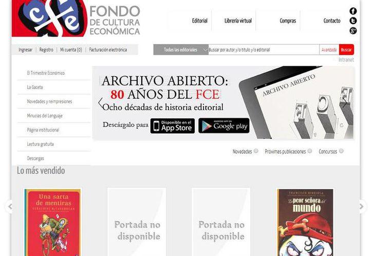 El Fondo de Cultura Económica (FCE) ya publica en su página oficial el link para descargar la aplicación. (fondodeculturaeconomica.com)