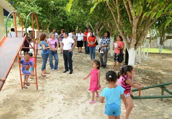 Existen escuelas en las que es necesario ampliar las instalaciones. (Manuel Salazar/SIPSE)