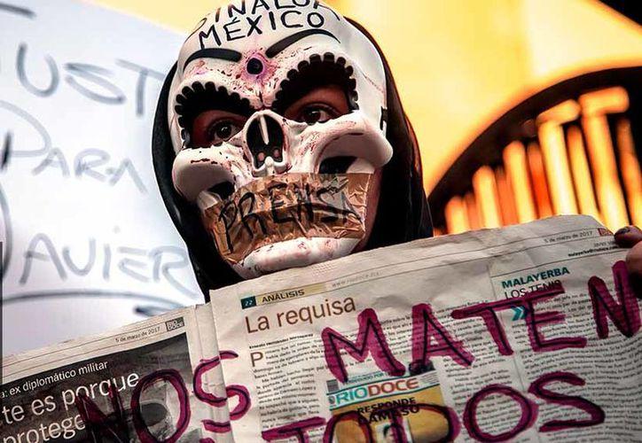 La Fiscalía de Sinaloa trabaja en el caso junto con la fiscalía especial de la Procuraduría General de la República, encargada de delitos contra la libertad de expresión. (AP)