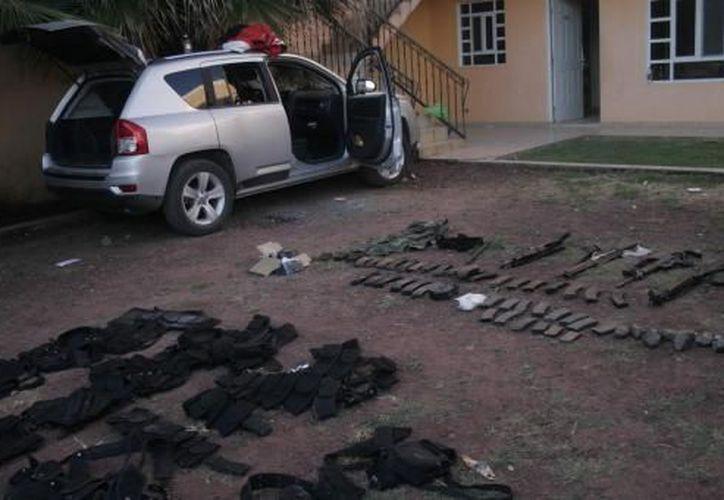 Se pretende desarmar varias zonas donde hay tráfico de drogas, migrantes y armas. (Foto de contexto/Notimex))
