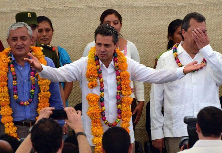 Peña Nieto urgió a alcanzar las metas propuestas para este año. (Notimex)