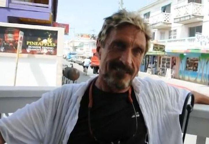 Las autoridades beliceñas aseguran que no han detenido a Mc Afee. (Agencias)