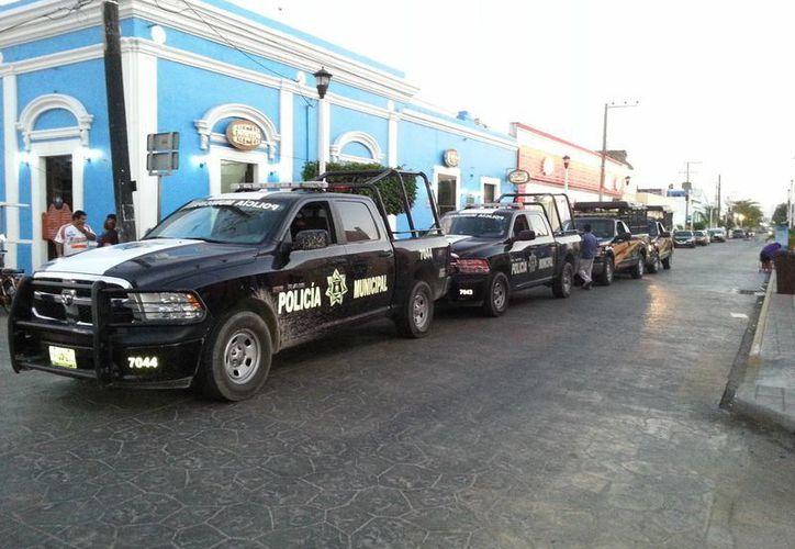 En el operativo participaron 65 elementos a bordo de 8 camionetas. (Milenio Novedades)