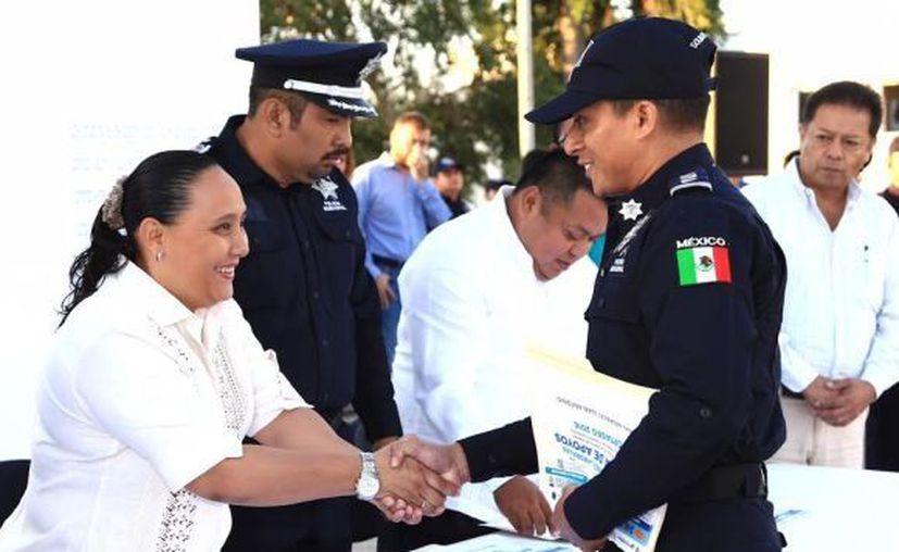 Cristina Torres busca sumar esfuerzos por la seguridad de Playa del Carmen. (Redacción/SIPSE)