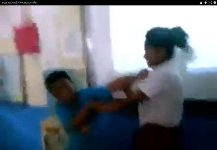 En junio, un niño intentó asfixiar a una compañera por hablar con un acento distinto, en Sonora. (Archivo/SIPSE)